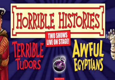 Exeter Northcott - Horrible Histories: Terrible Tudors
