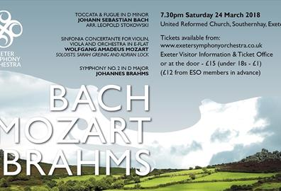 Exeter Symphony Orchestra Concert - Bach, Mozart, Brahms
