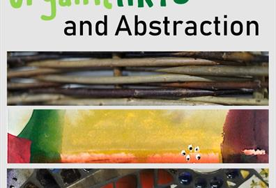 organicARTS and Abstraction poster