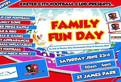 ECFC Charity Family Fun Day