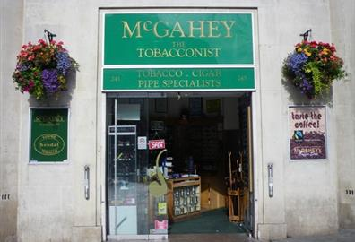 McGahey the Tobacconist