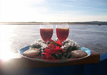 festive special river cruise with stuart line cruises