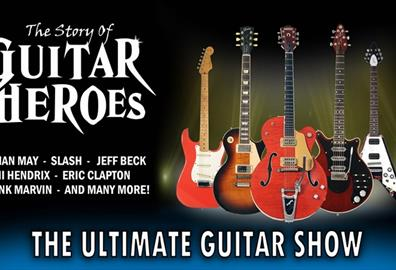 Exeter Corn Exchange - The Story of Guitar Heroes 2019