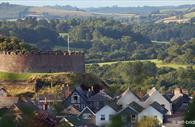 View of Totnes Castle