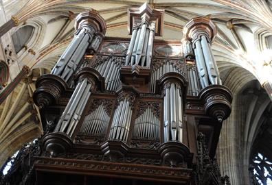 Exeter Cathedral - Organ Recital : Jeff Howard