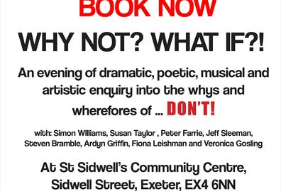 St Sidwell's - Why not? What If?